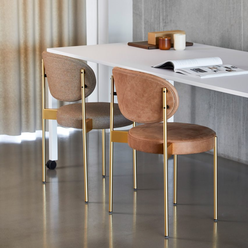 Verner Panton's furniture ideal for home offices