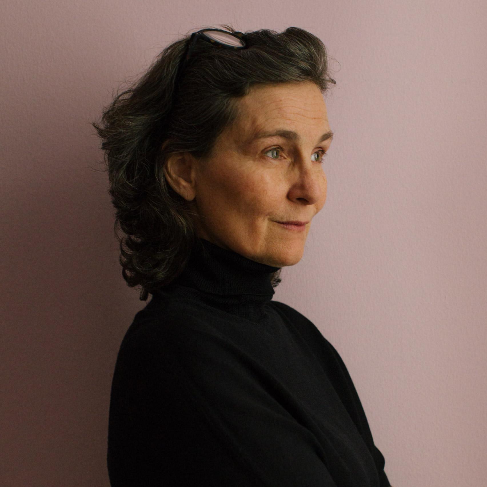 Portrait of Co/rizom co-founder Nadja Zerunian