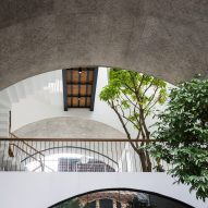 Inside of Vom House in Vietnam by Sanuki Daisuke Architects