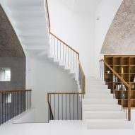 Staircase of Vom House in Vietnam by Sanuki Daisuke Architects