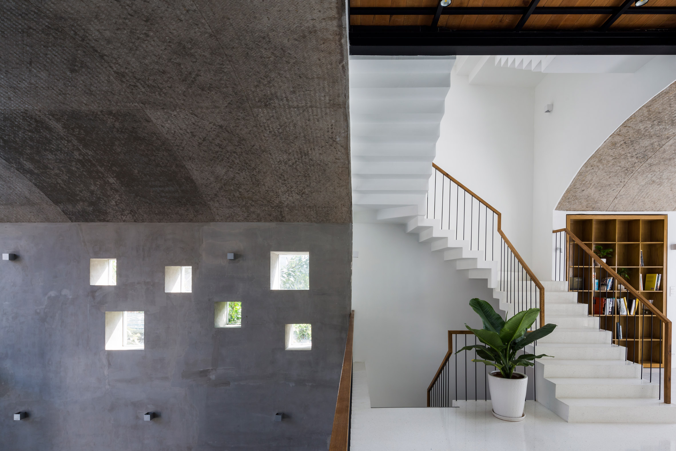 Interiors of Vom House in Vietnam by Sanuki Daisuke Architects