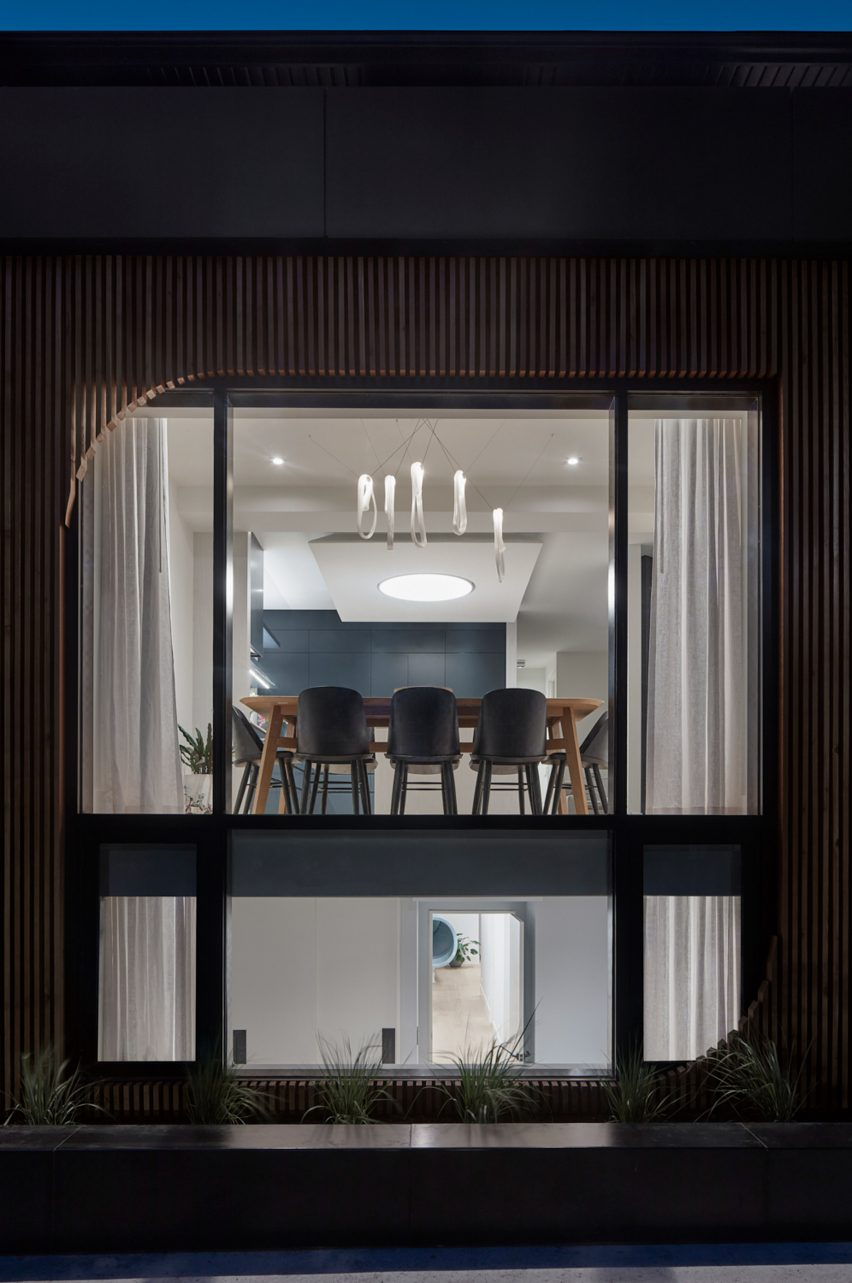 Walker house in Toronto, Canada, by Reflect Architecture
