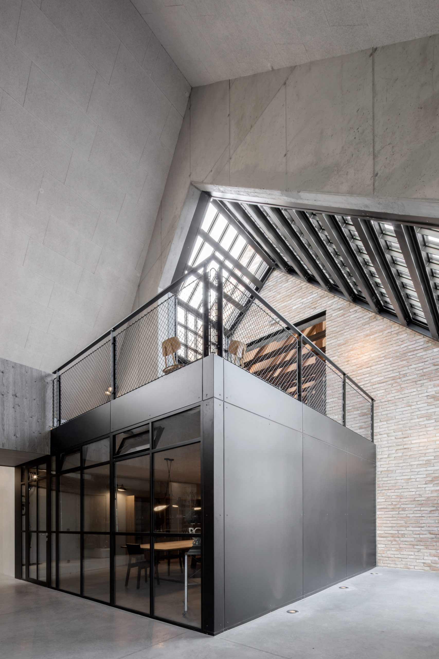 Grey Shades Permeate Interiors Of Austria S Clemens Strobl Winery New Urbanism Blog