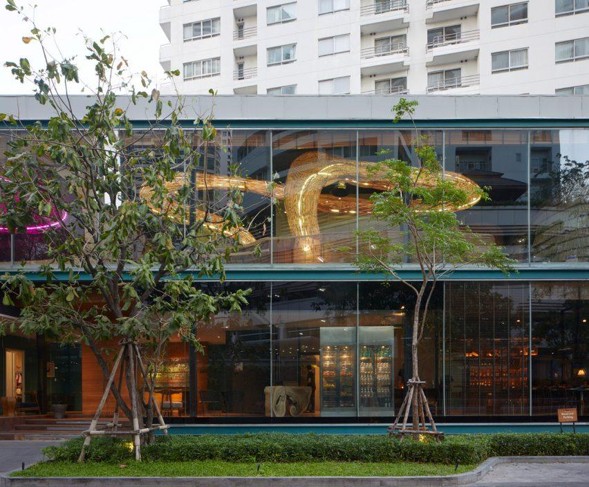 Vikasa yoga studio in Bangkok