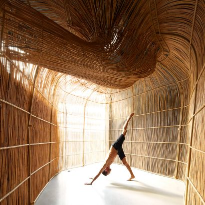Vikasa yoga studio in Bangkok by Enter Projects Asia