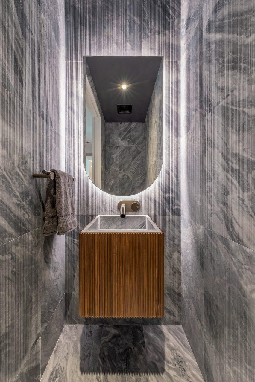 David Adjaye-designed bathroom