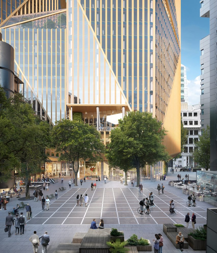 Visual of 2 Finsbury Avenue by 3XN
