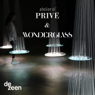 Atelier Oï previews forthcoming glass collection on Dezeen in a live talk and guided tour
