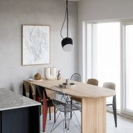 Dining room with products from Finnish Design Shop