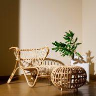 Rattan furniture from Finnish Design Shop