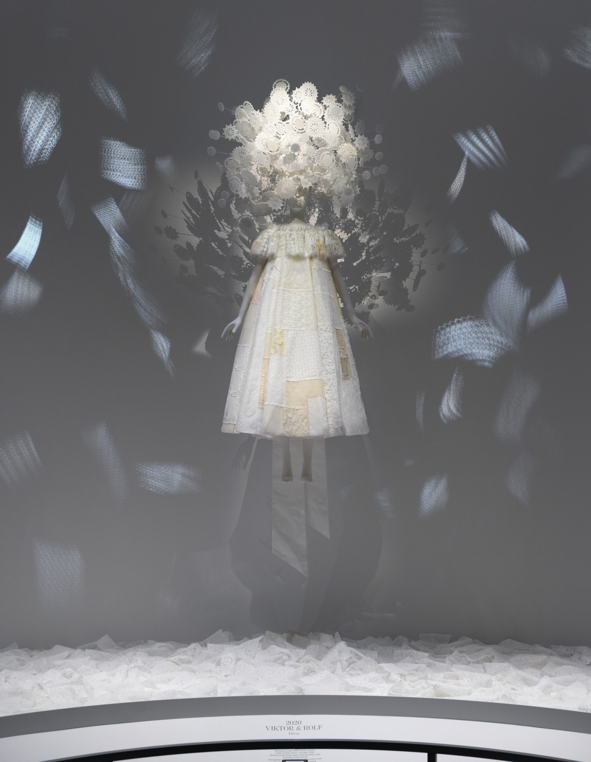 Spring/summer 2020 haute couture by Viktor + Rolf in the About Time exhibition at The Met
