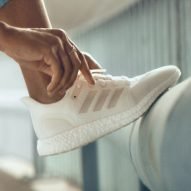 Adidas' endlessly recyclable trainer features in today's Dezeen Weekly newsletter