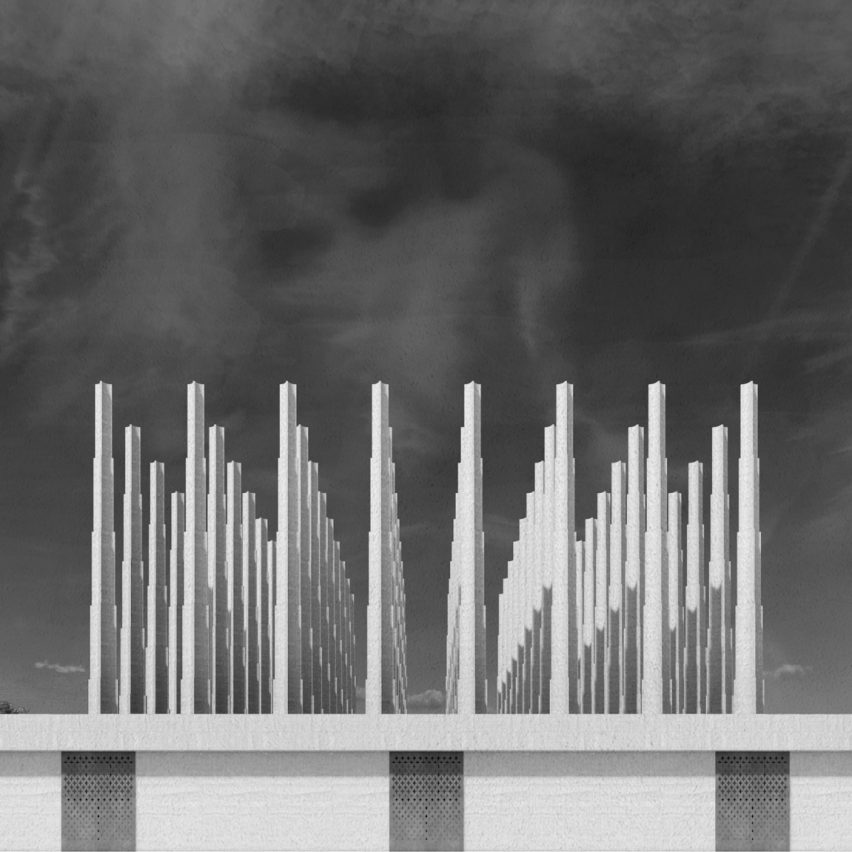 "Adjaye Associates designs ""labyrinth of abstraction"" as martyrs' memorial in Niger"