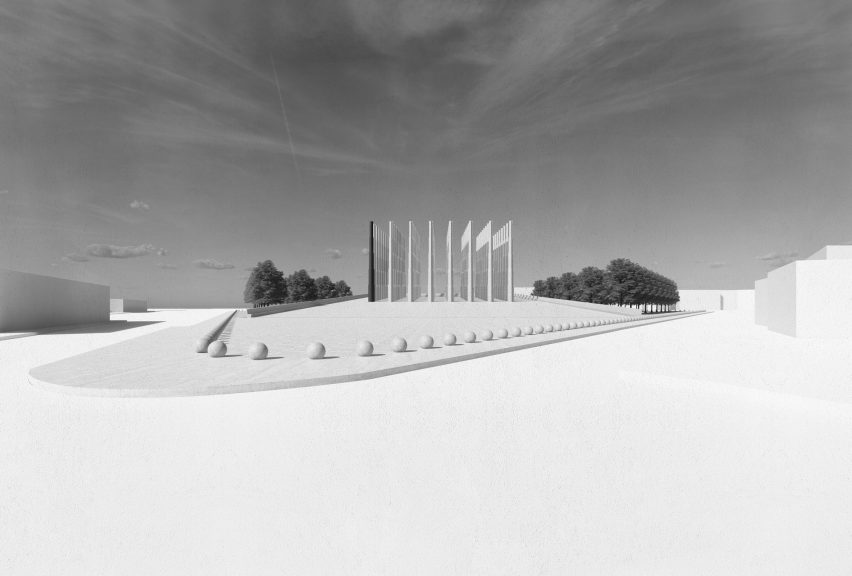 Le Mémorial des Martyrs by Adjaye Associates