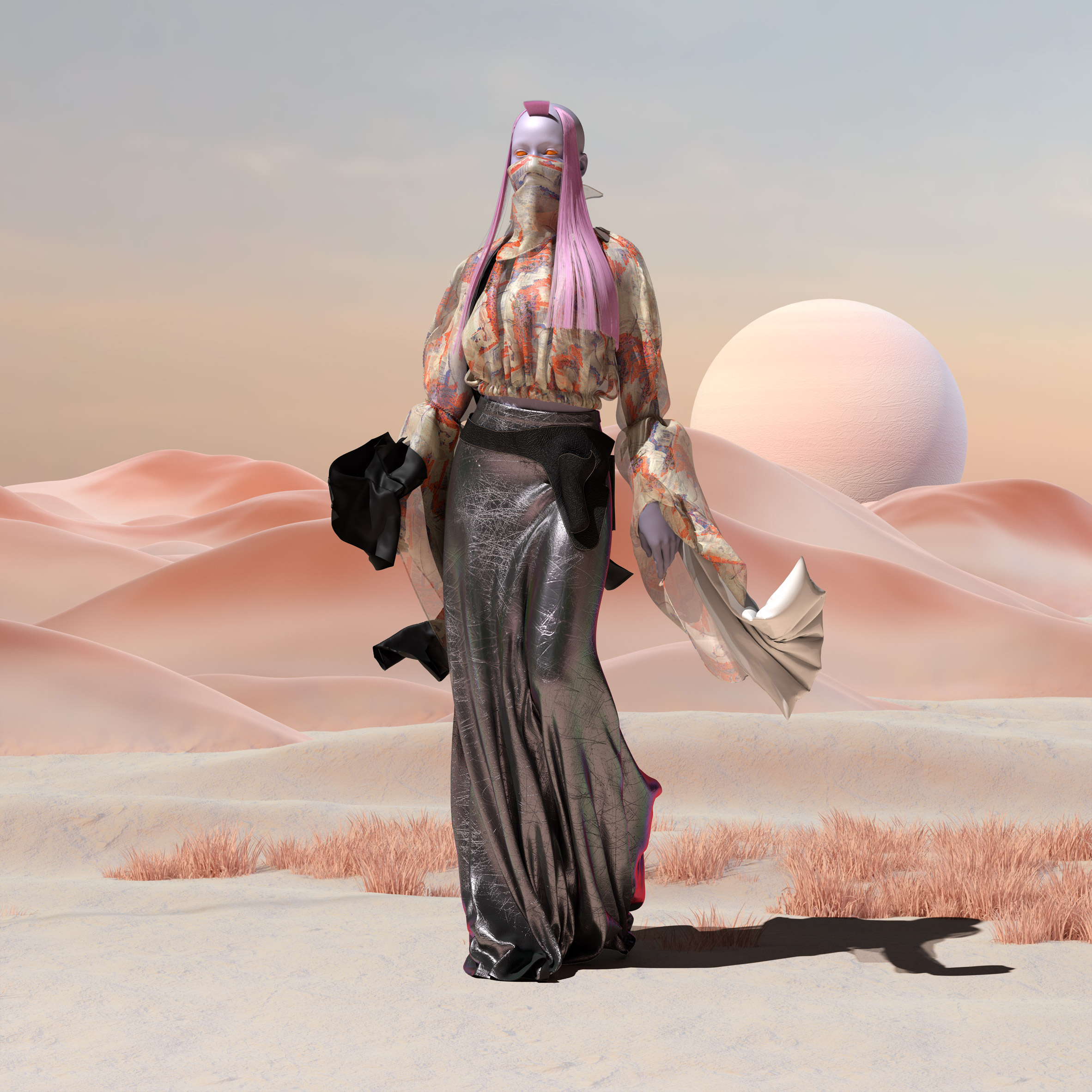 Virtual fashion by The Fabricant