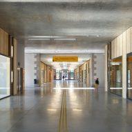 Hallway in Ateliers des Capucins by Atelier L2