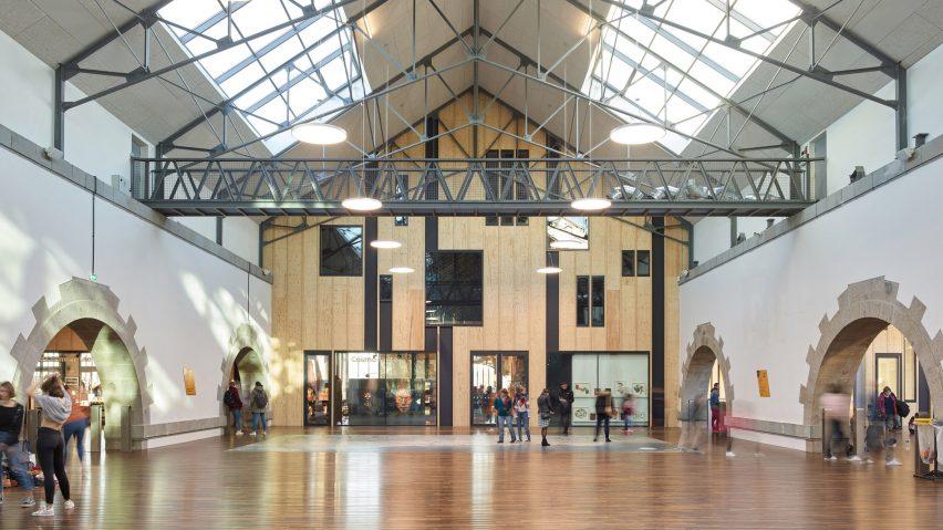 Interior of Atelier des Capucins by Atelier L2