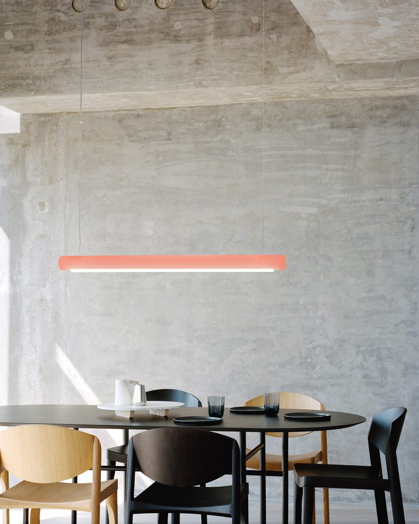 Aura lights by Sabine Marcelis for Established & Sons
