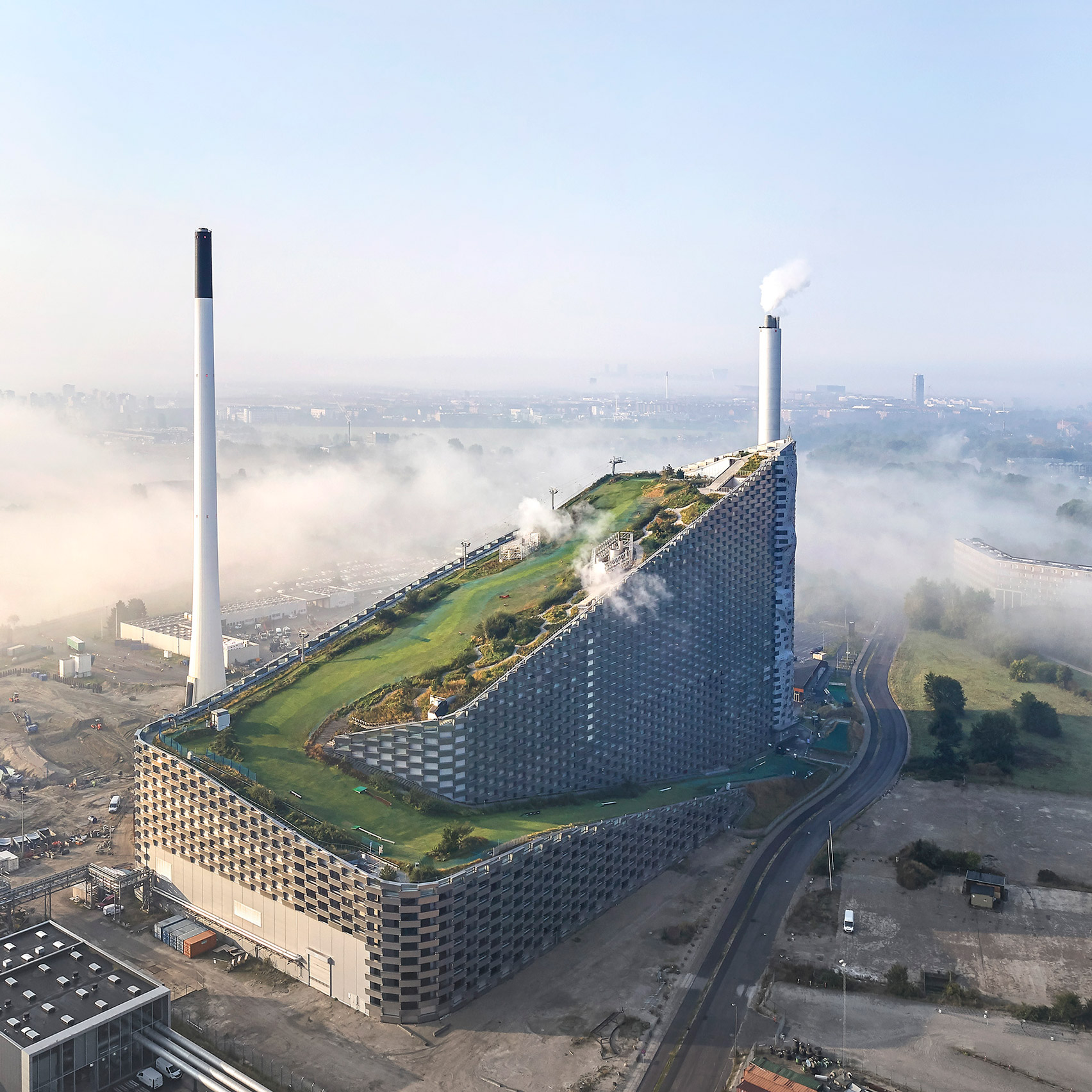 BIG's Amager Bakke power station photographed by Hufton + Crow