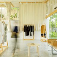 Minimal interiors of Bodice store in New Delhi champions slow fashion