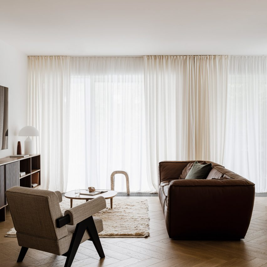 Agnieszka Owsiany Studio creates tranquil apartment in Pozna? for couple working in medicine