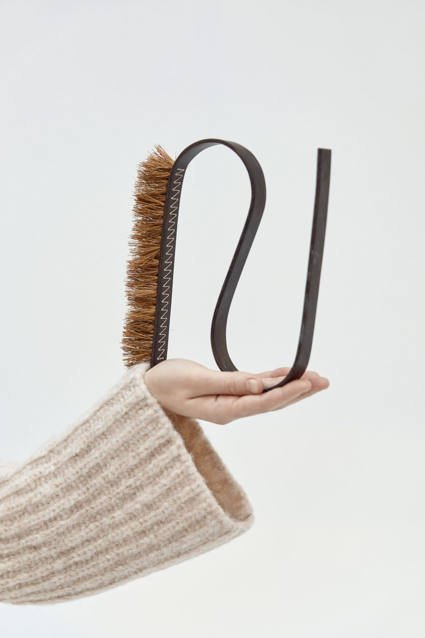 """The Bue brushes are designed to be """"enjoyed in and out of use"""""""