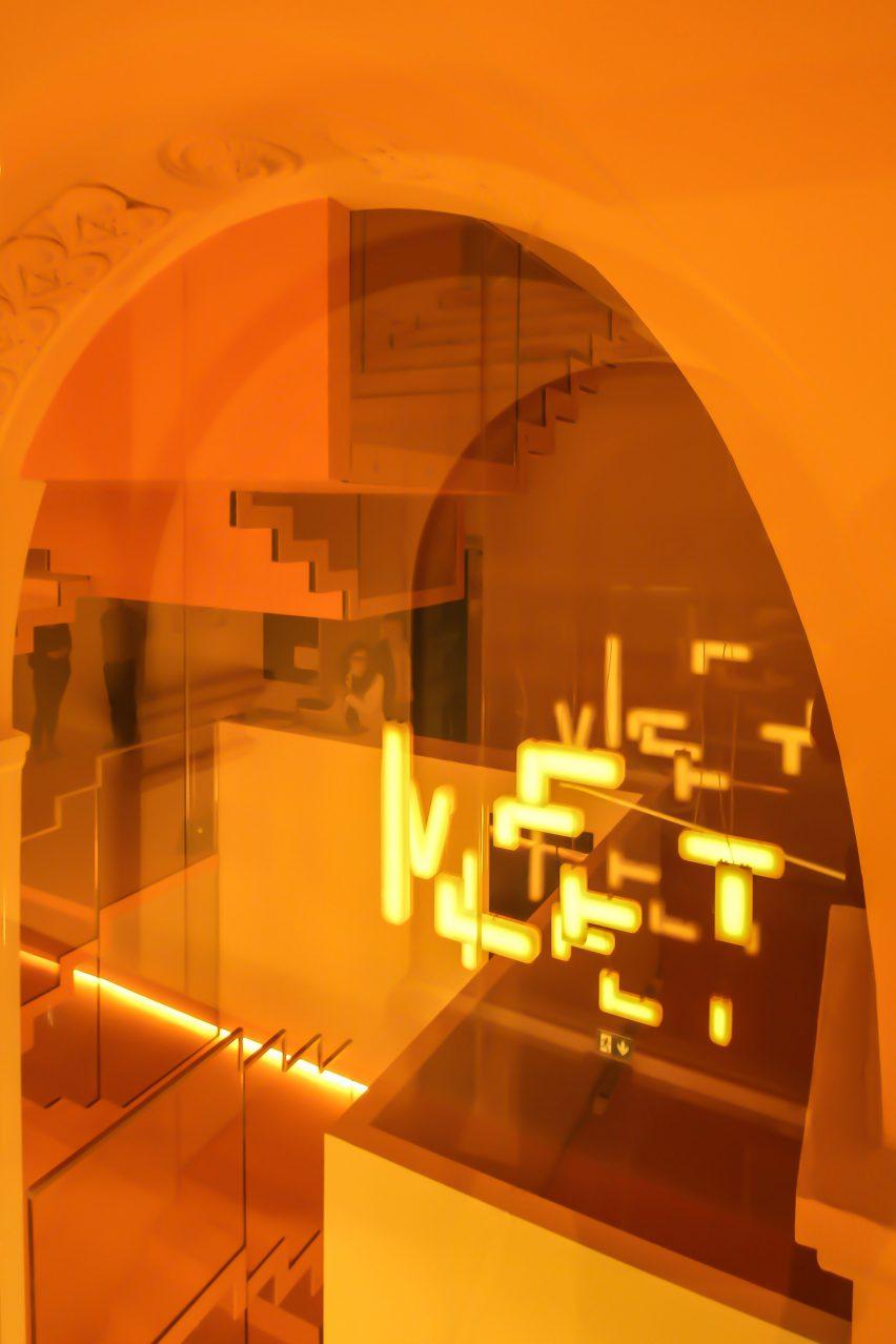 MEET sign at MEET Milan by Carlo Ratti