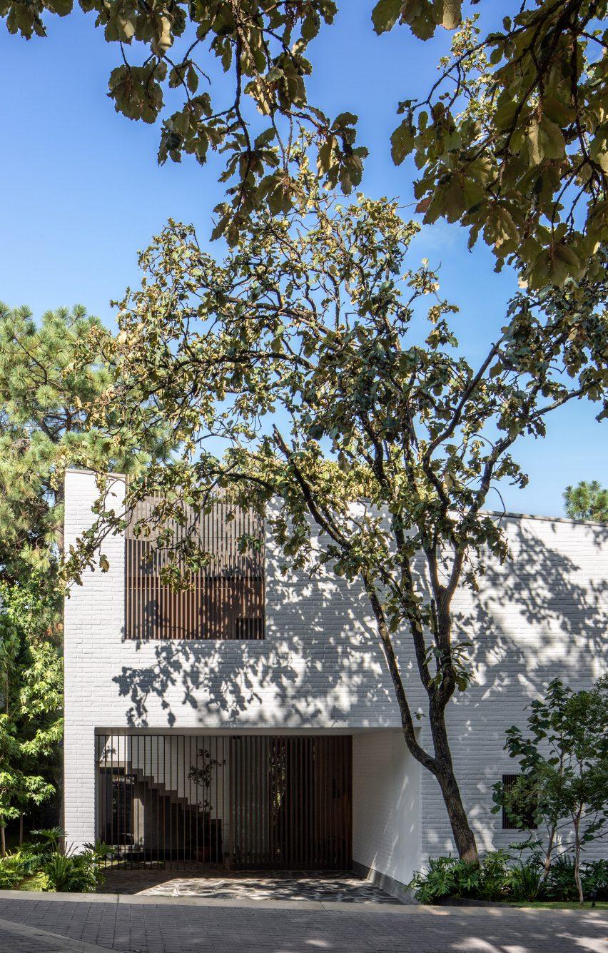 Exterior of Casa RA by Radillo Alba