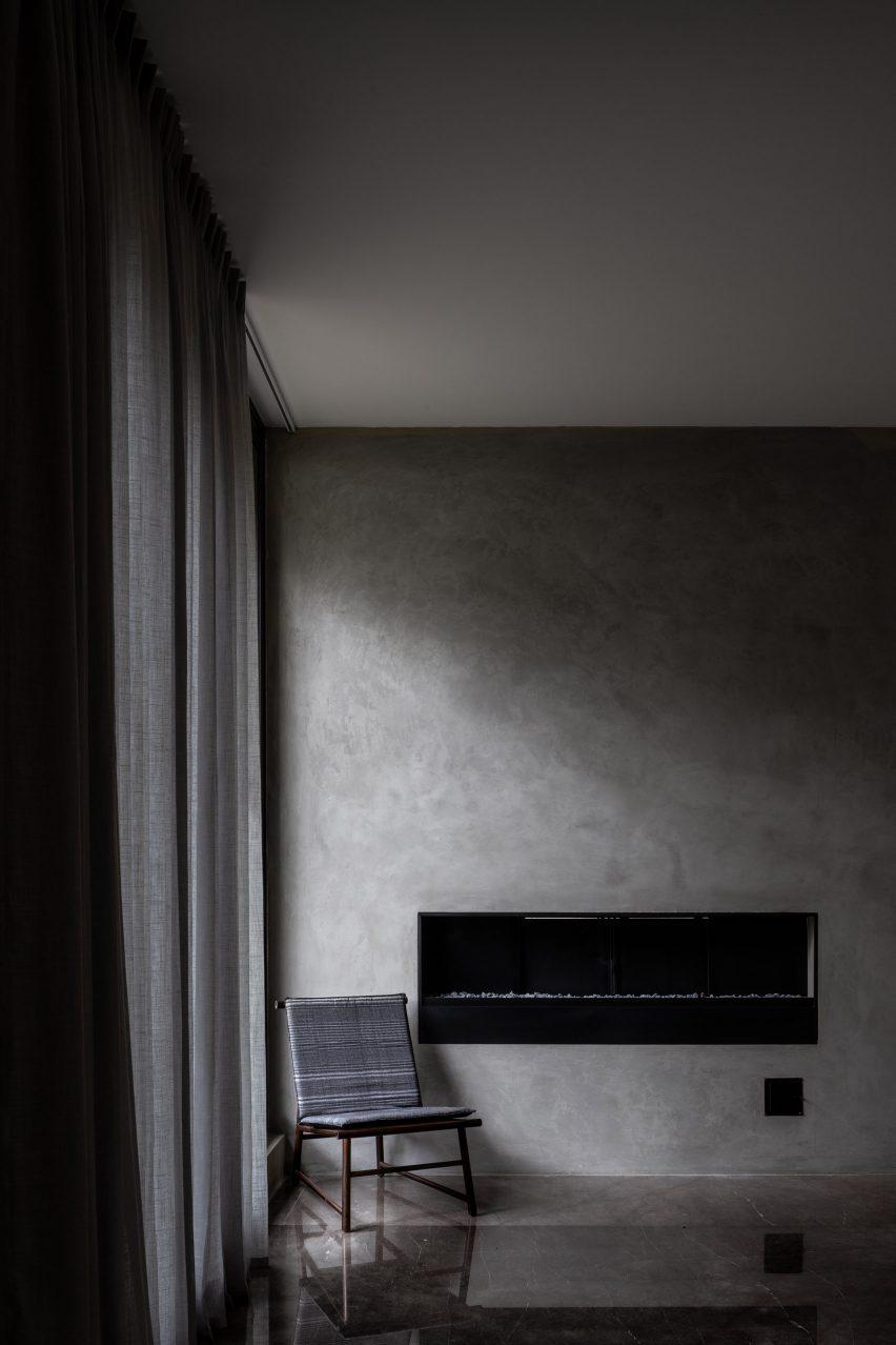 Lounge na Casa RA por Radillo Alba