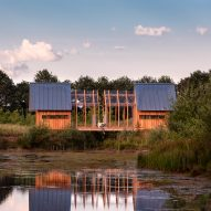 Caspar Schols develops Cabin ANNA from the garden shed he built for his mother
