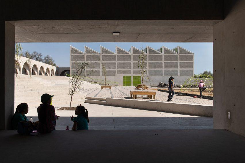 Boys and Girls Club in Mexico by Centro de Colaboración Arquitectónica (CCA)
