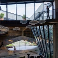 Interiors of Coffee Production Plant by Giorgi Khmaladze Architects