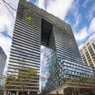Collins Arch in Melbourne by Woods Baggot and SHoP Architects