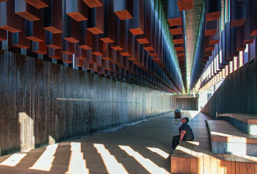 National Memorial for Peace and Justice, Montgomery, Alabama, USA