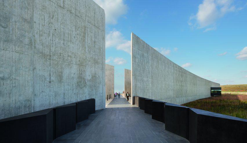 Flight 93 National Memorial, Shanksville, Pennsylvania, USA, by Paul Murdoch Architects.