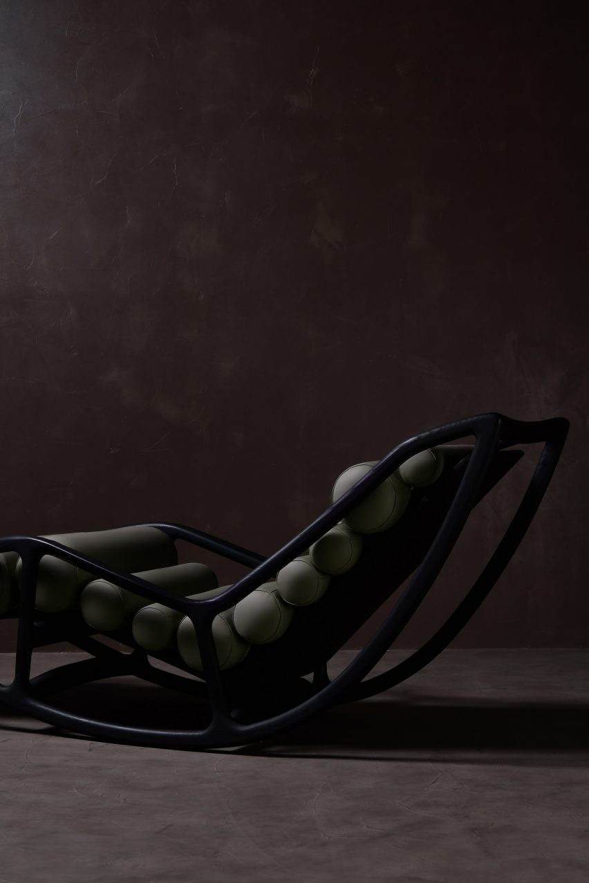 Peascod Rocking Chair by Fnji