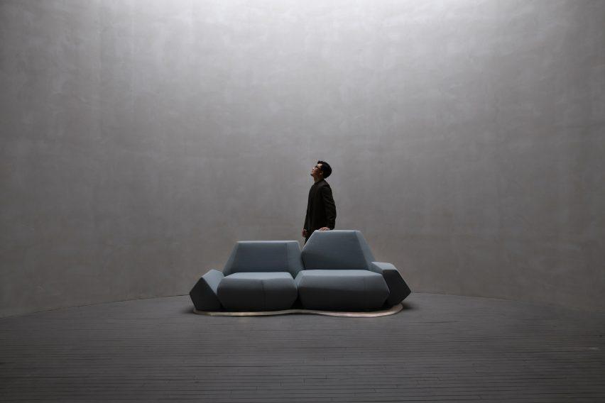 Iceberg Sofa by Fnji