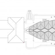 CLT church by Nicolas Pople Architects plans