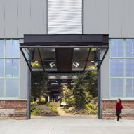 Disused factory transformed into Crye Precision Headquarters in Brooklyn
