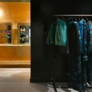 Interiors of Dries Van Noten's first US store in Los Angeles