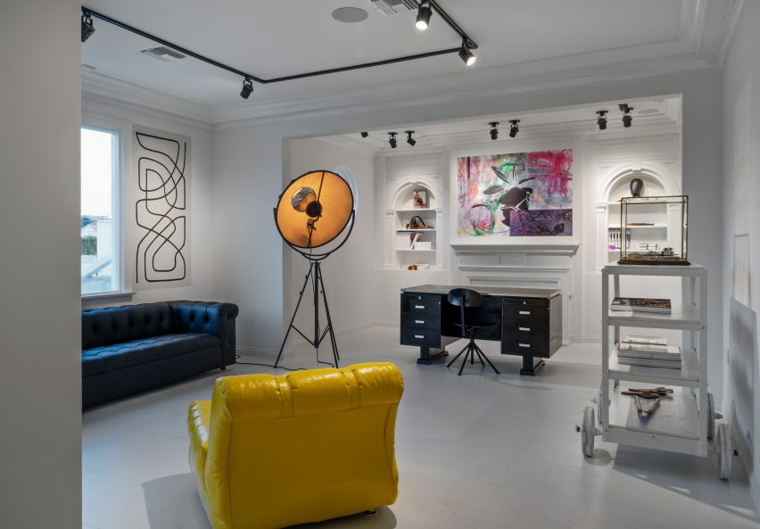 Dries Van Noten's first US store in Los Angeles features art from global creatives