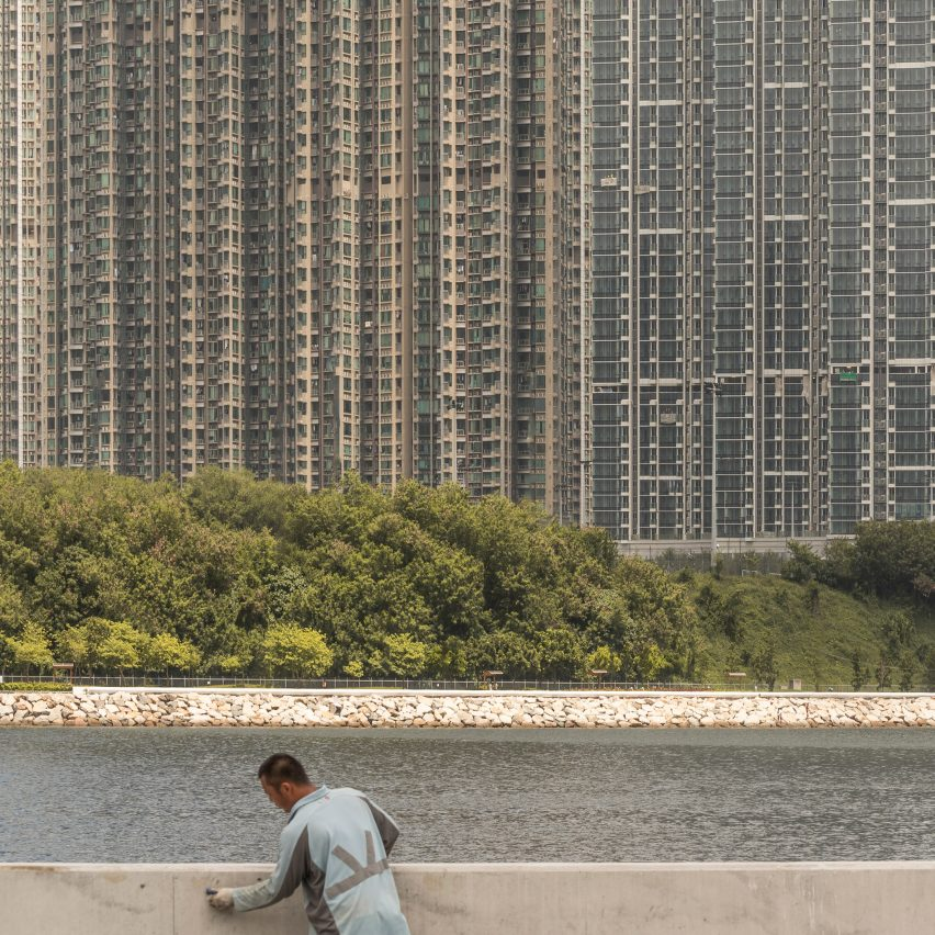 "Kris Provoost captures ""immense density"" of Hong Kong's housing"