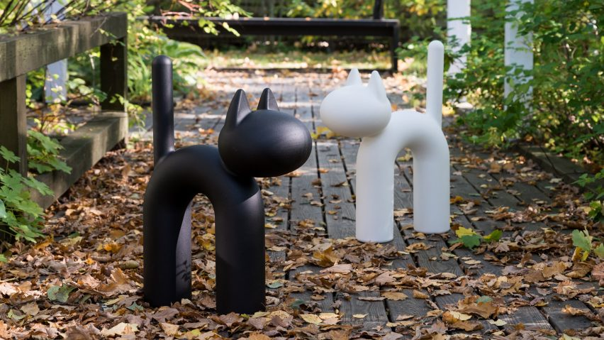 The Kisu cat ornament by Eero Aarnio