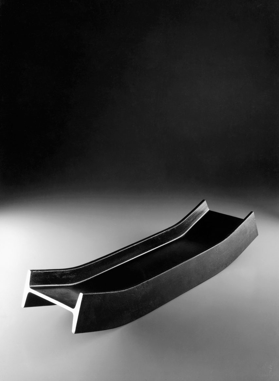 Putrella tray by Enzo Mari