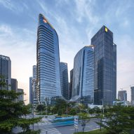 Farrells completes six interconnected skyscrapers in Shenzhen