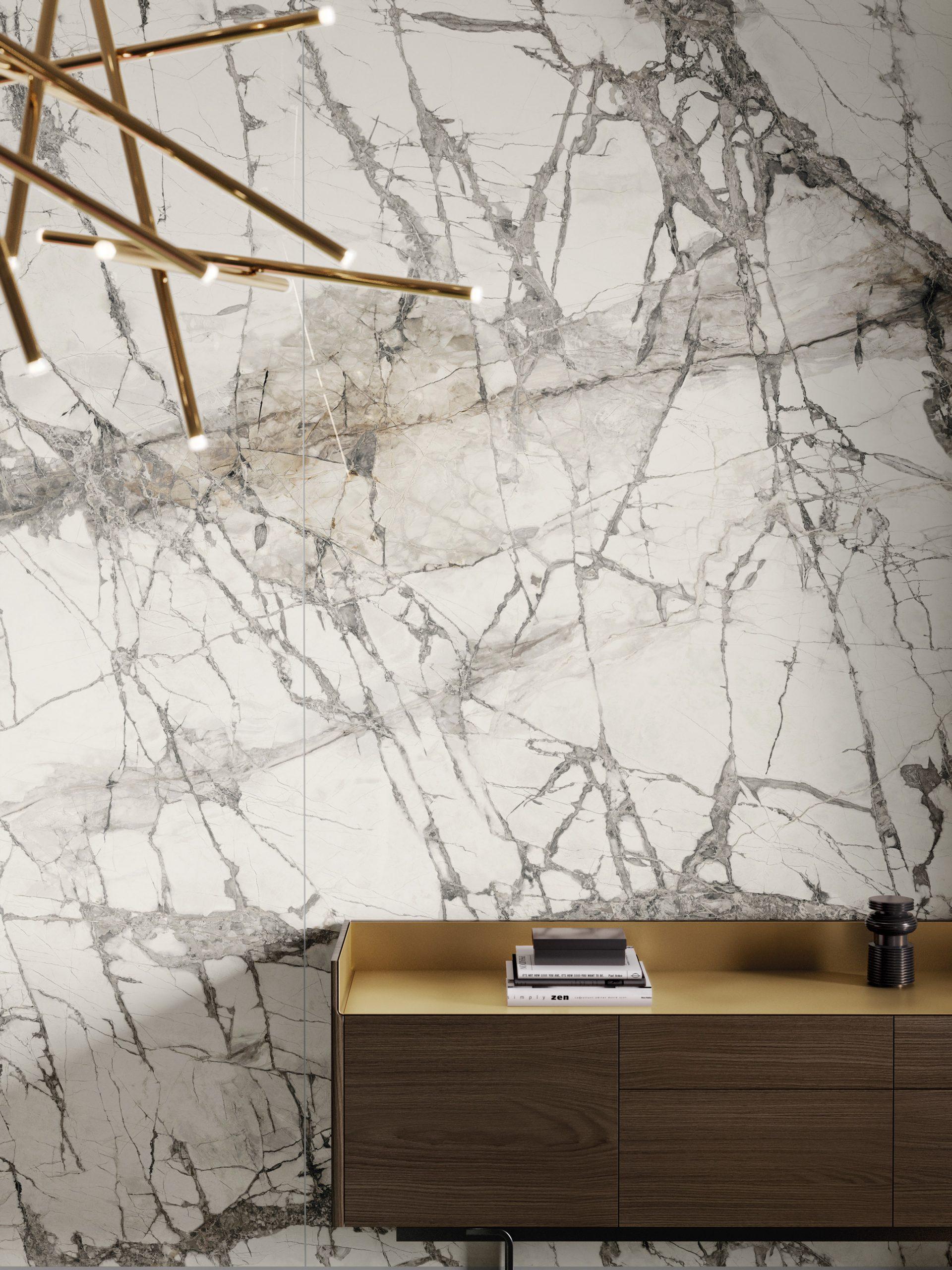 Calacatta Grey from Fabbrica Marmi e Graniti's MaxFine tile range