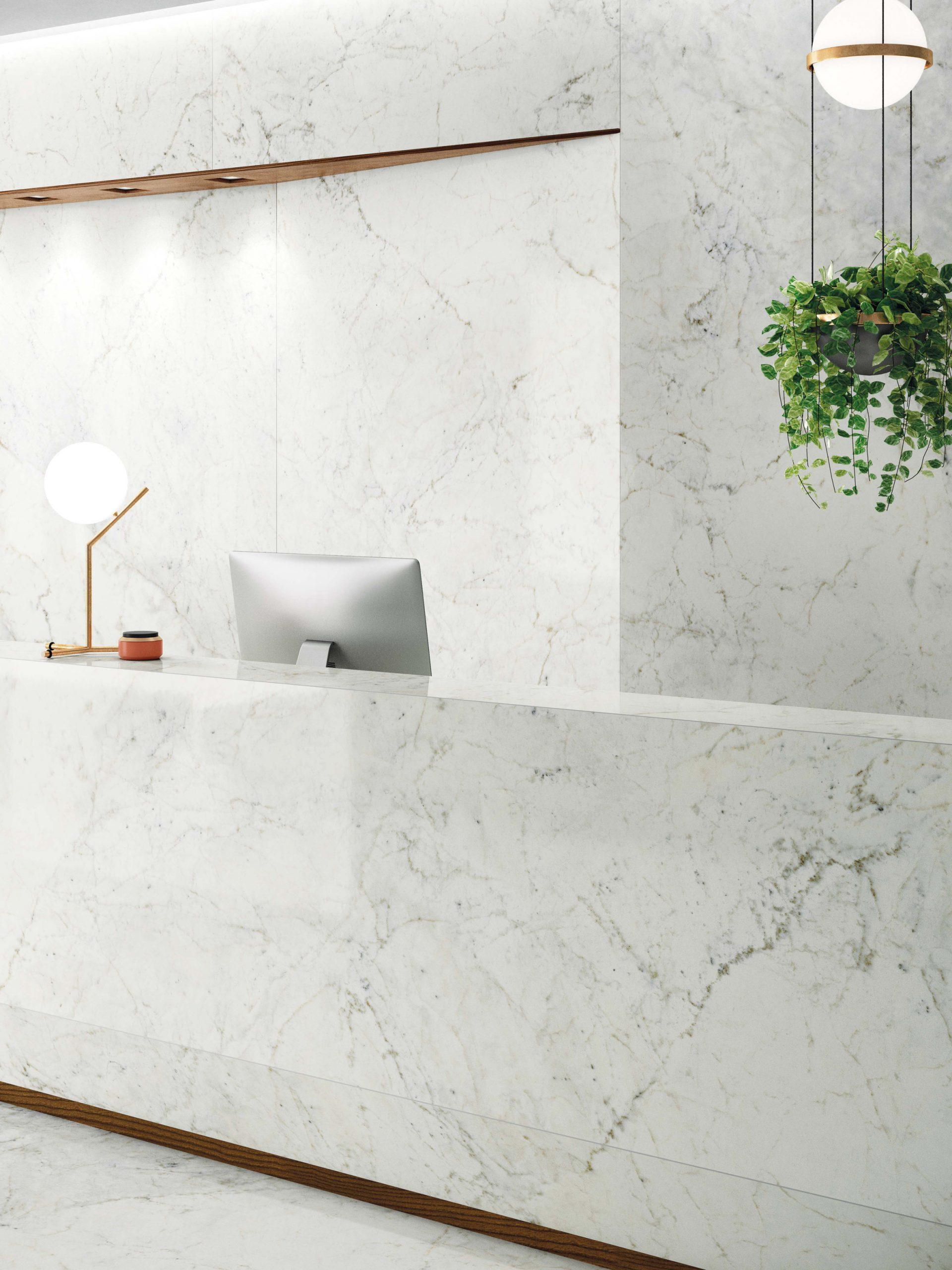 Statuario Delicato from Fabbrica Marmi e Graniti's MaxFine tile range