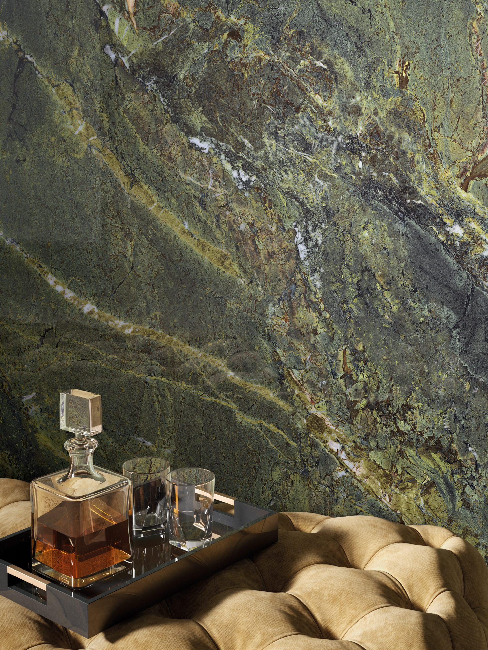 Verde Persia from Fabbrica Marmi e Graniti's MaxFine tile range