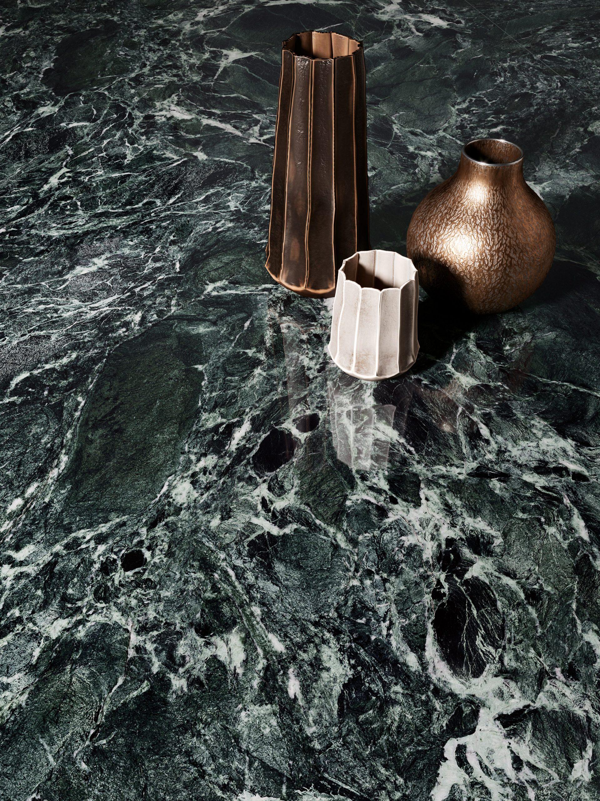 Aosta Green Marble from Fabbrica Marmi e Graniti's MaxFine tile range