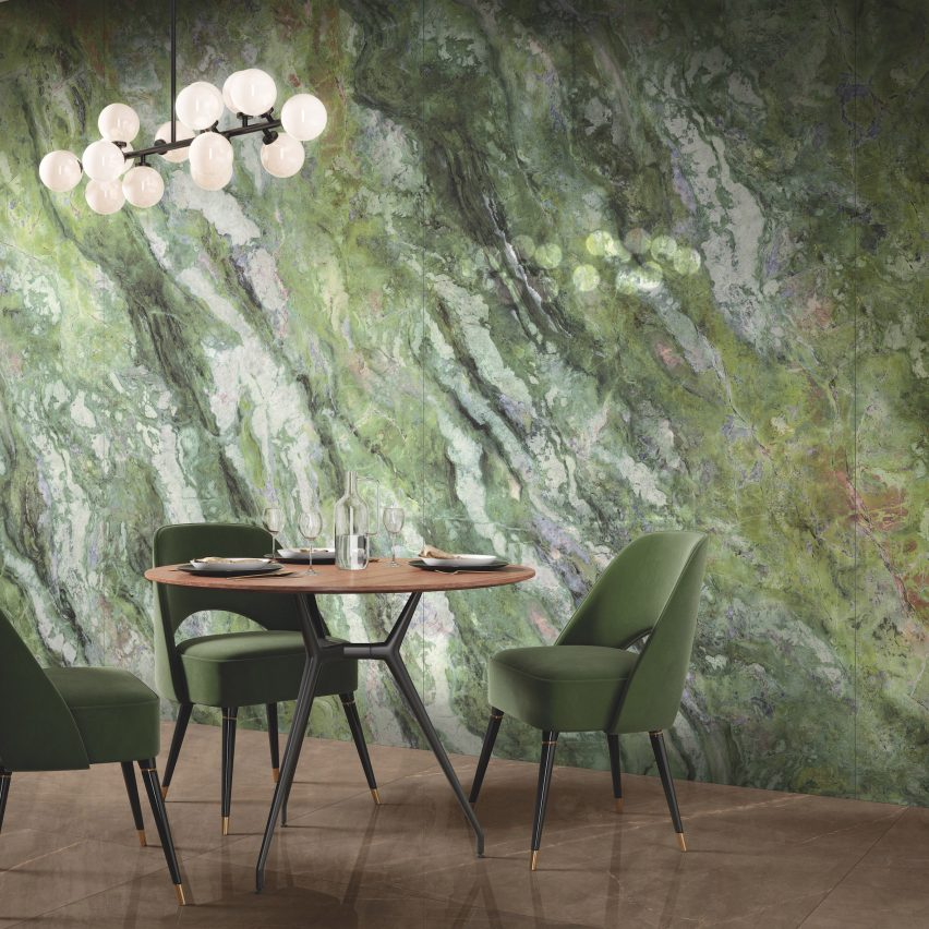 Fabbrica Marmi e Graniti launches five marble-effect surface tiles